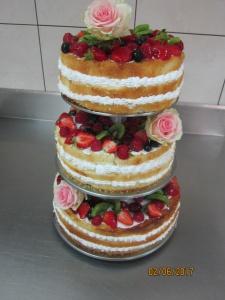 Naked Cake ( goły tort :)