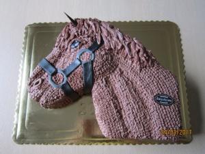 Tort w Kształcie Głowy Konia