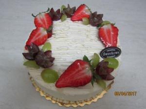 Tort z Owocami na wierzchu